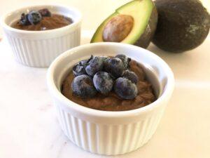 アボカドチョコレートムースのレシピ