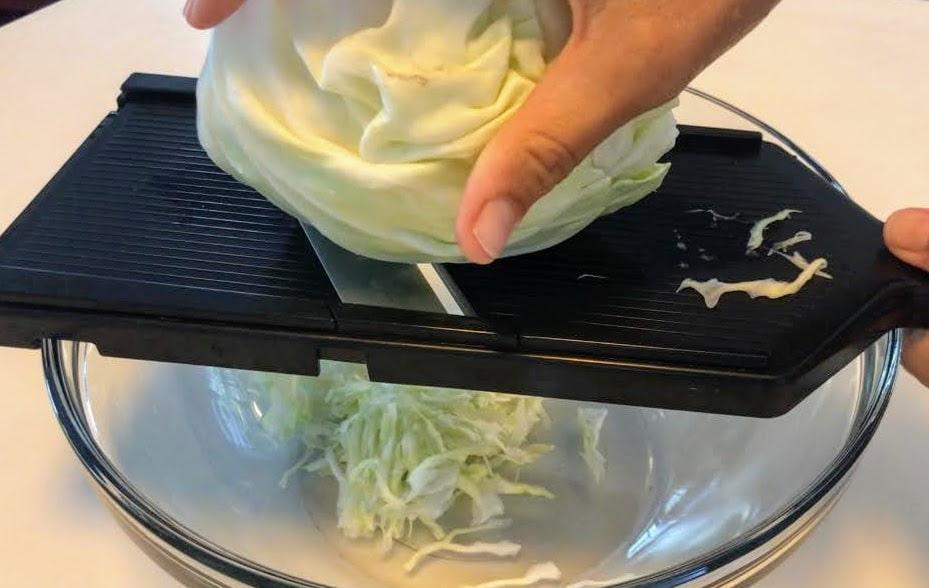 ザワークラウト(発酵野菜)作り方
