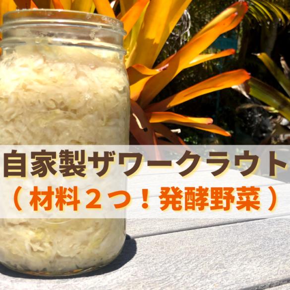 ザワークラウト/発酵野菜の作り方