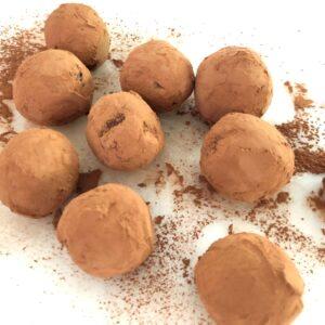 ヴィーガン チョコレートトリュフ 作り方