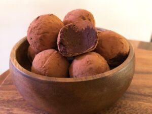 ヴィーガン チョコレートトリュフの作り方