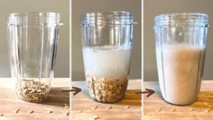 オートミルクの作り方