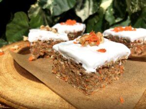 ヴィーガンキャロットケーキ