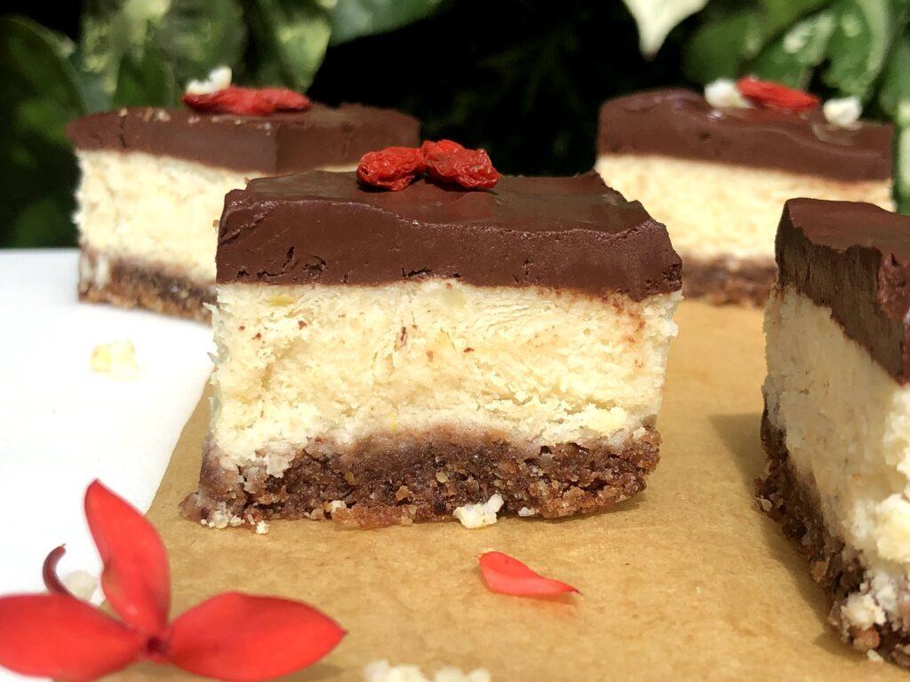 ヴィーガン カッテージチーズケーキ