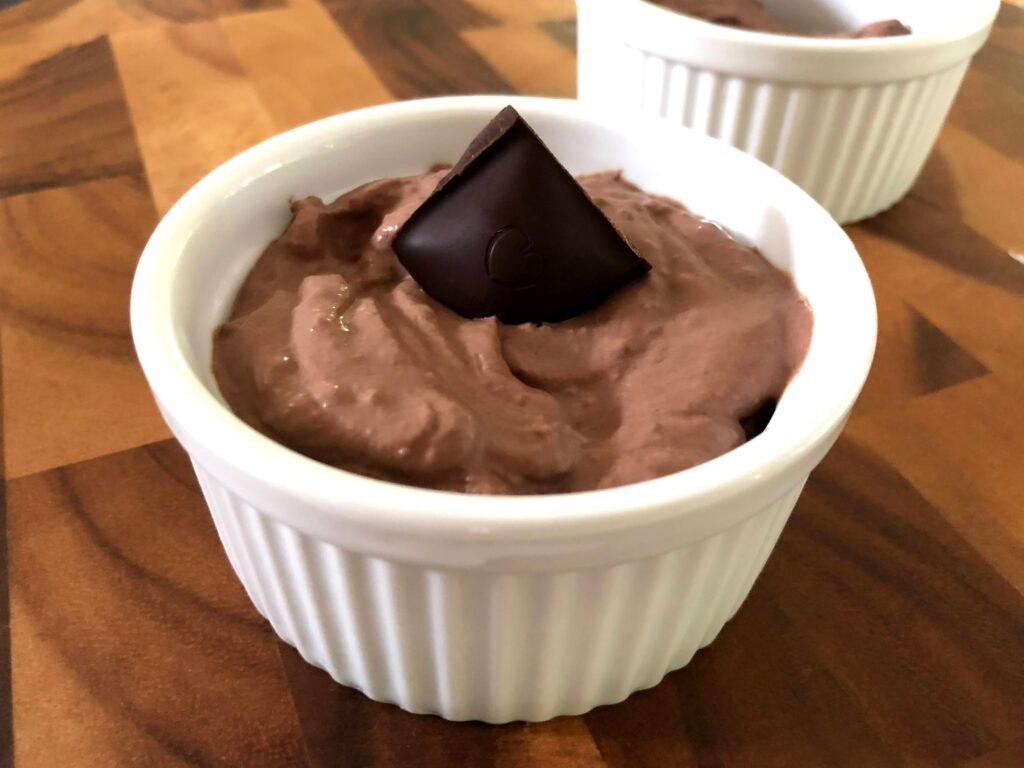 豆腐チョコレートムースのレシピ