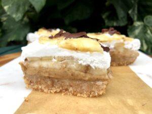 バナナクリームパイのレシピ