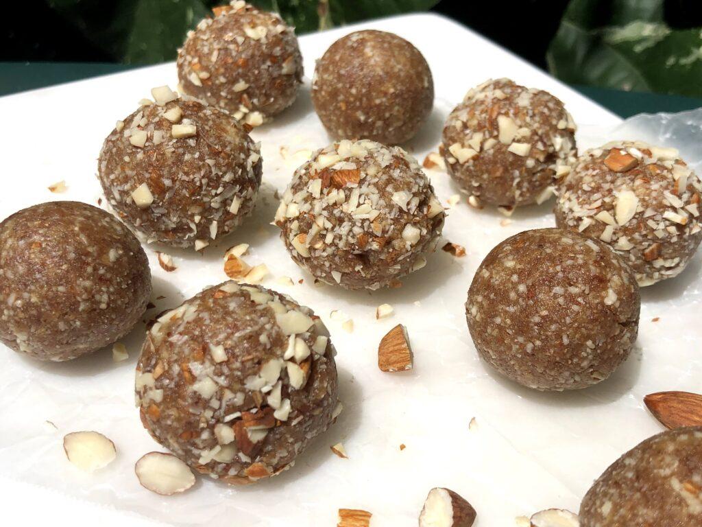 塩キャラメルエナジーボールのレシピ