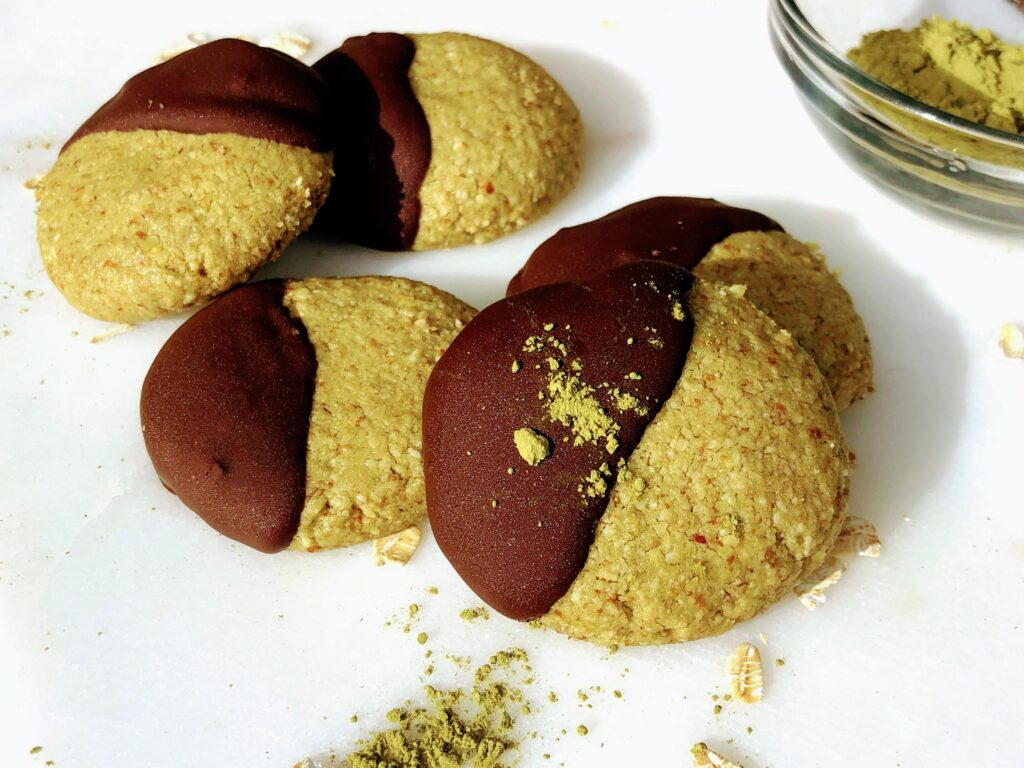 ヴィーガン抹茶クッキーのレシピ_2