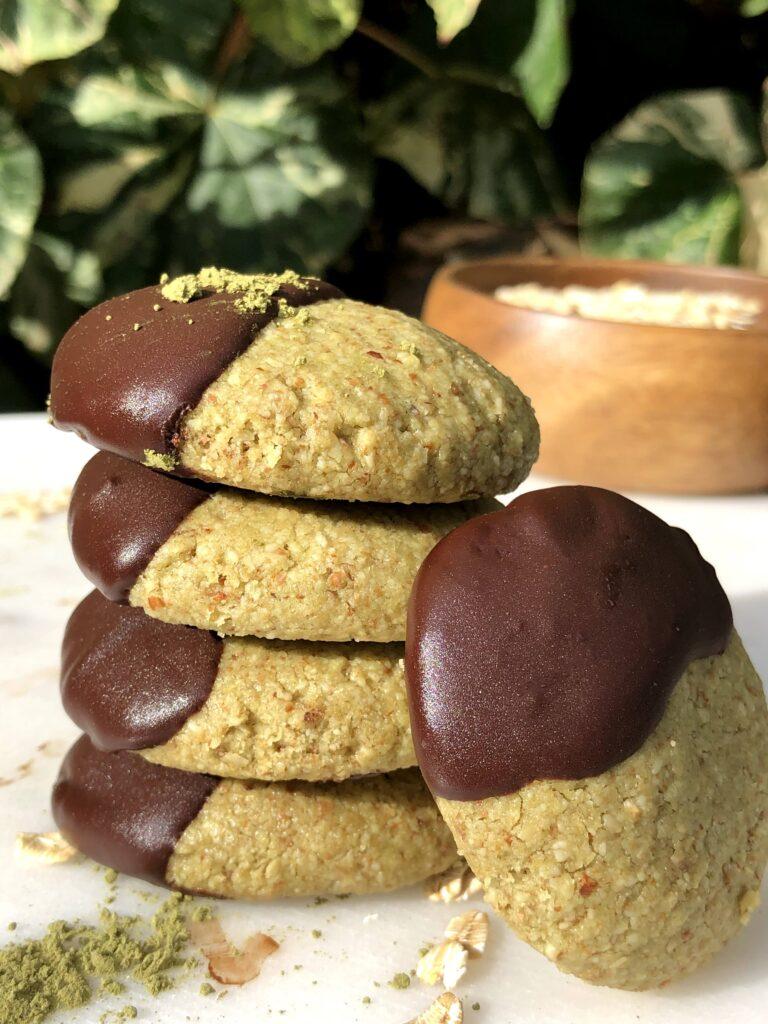 ヴィーガン抹茶クッキーのレシピ_3