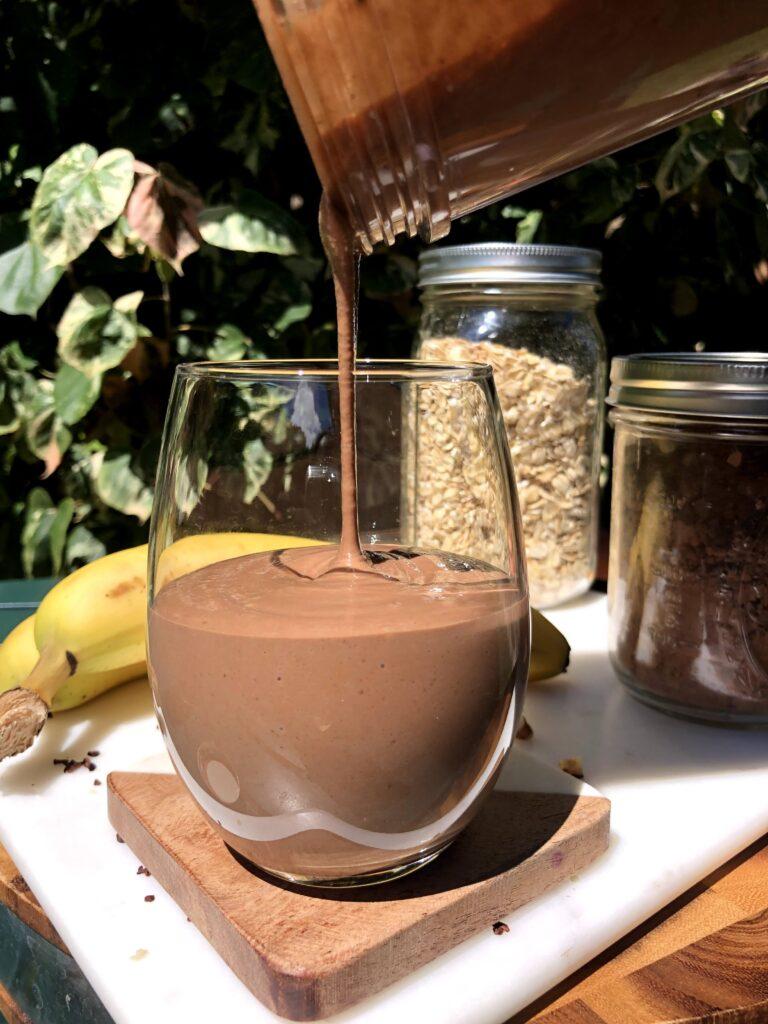 チョコレートオートミールスムージー_3