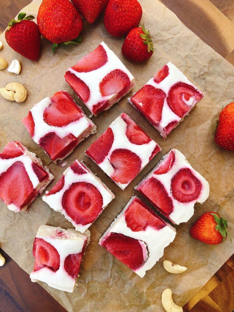 苺のヴィーガンチーズケーキのレシピ_2