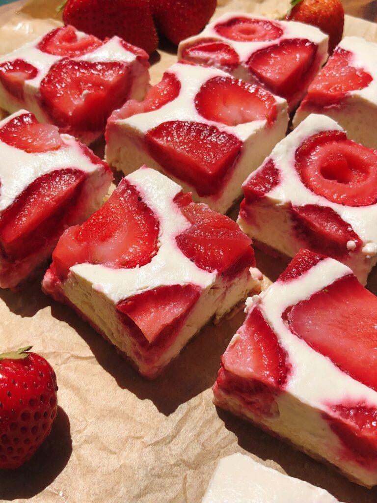 苺のヴィーガンチーズケーキのレシピ_5