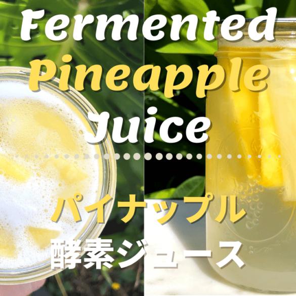 パイナップル自家製酵素ドリンク_1