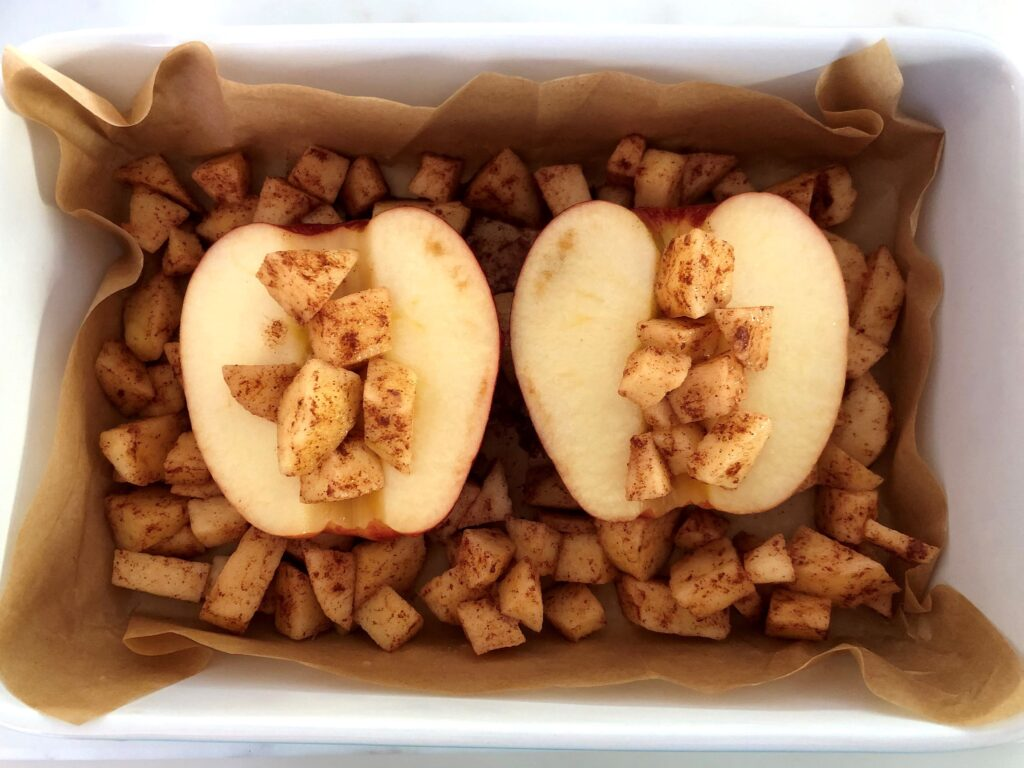 焼きリンゴのクリスプ‗2