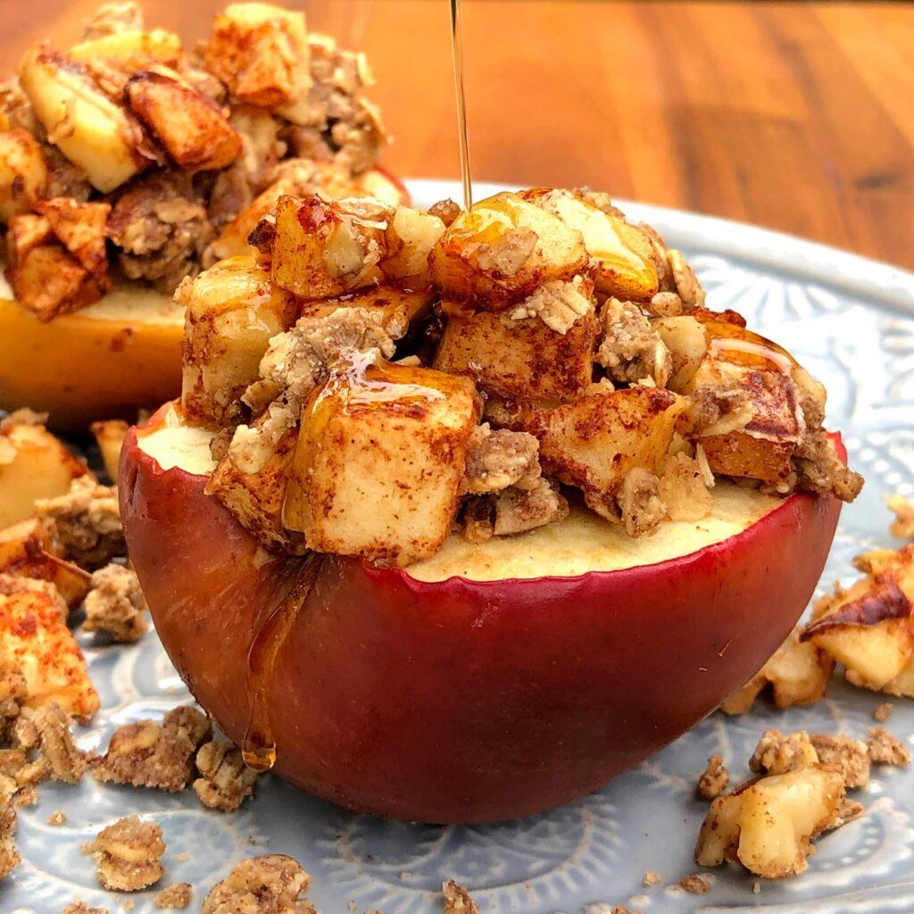 焼きリンゴのクリスプ‗4